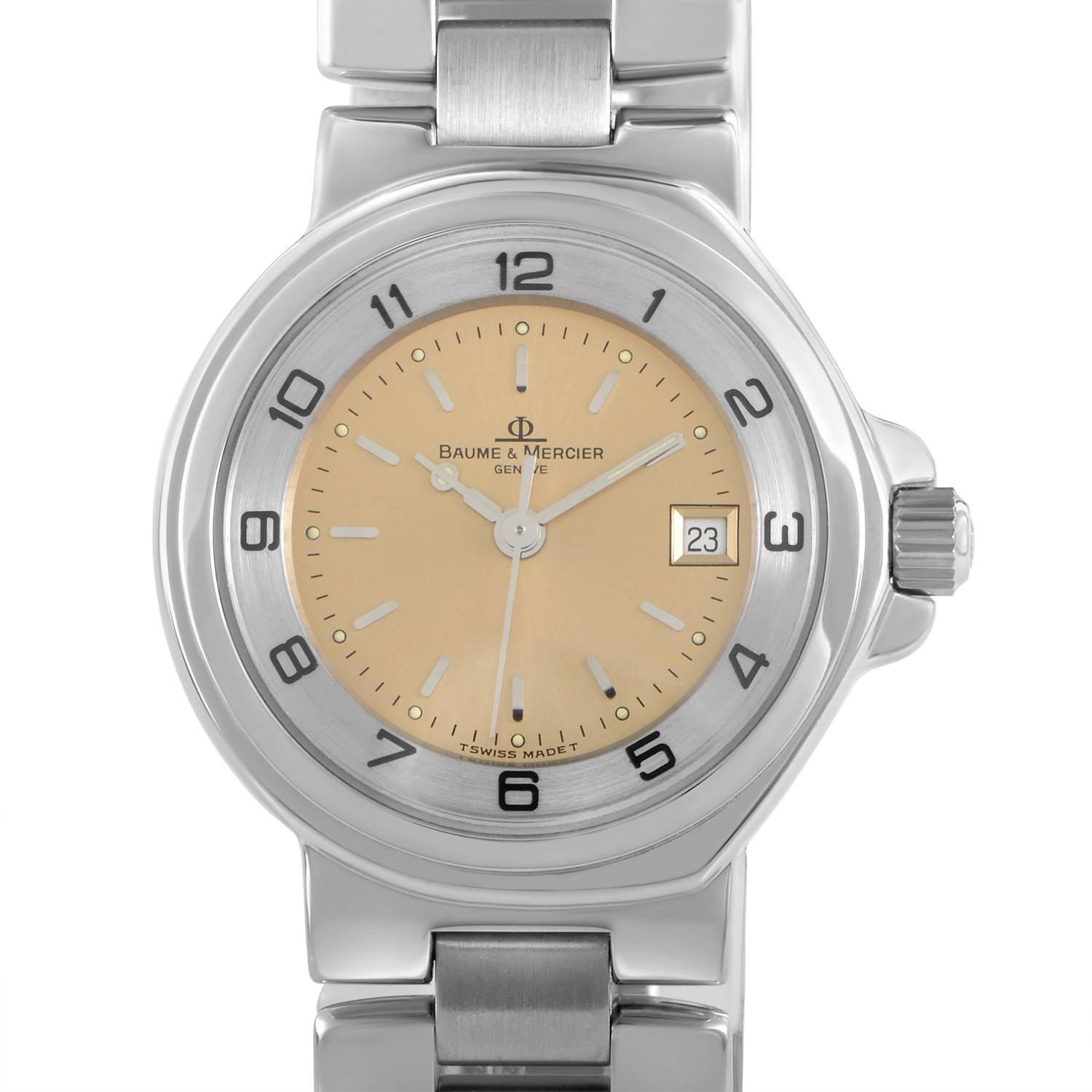 Ladies Stainless Steel Automatic Watch MOA06536