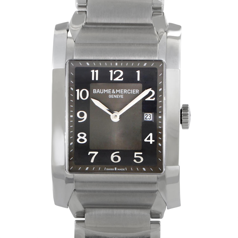 Hampton Mens Stainless Steel Quartz Watch MOA10021