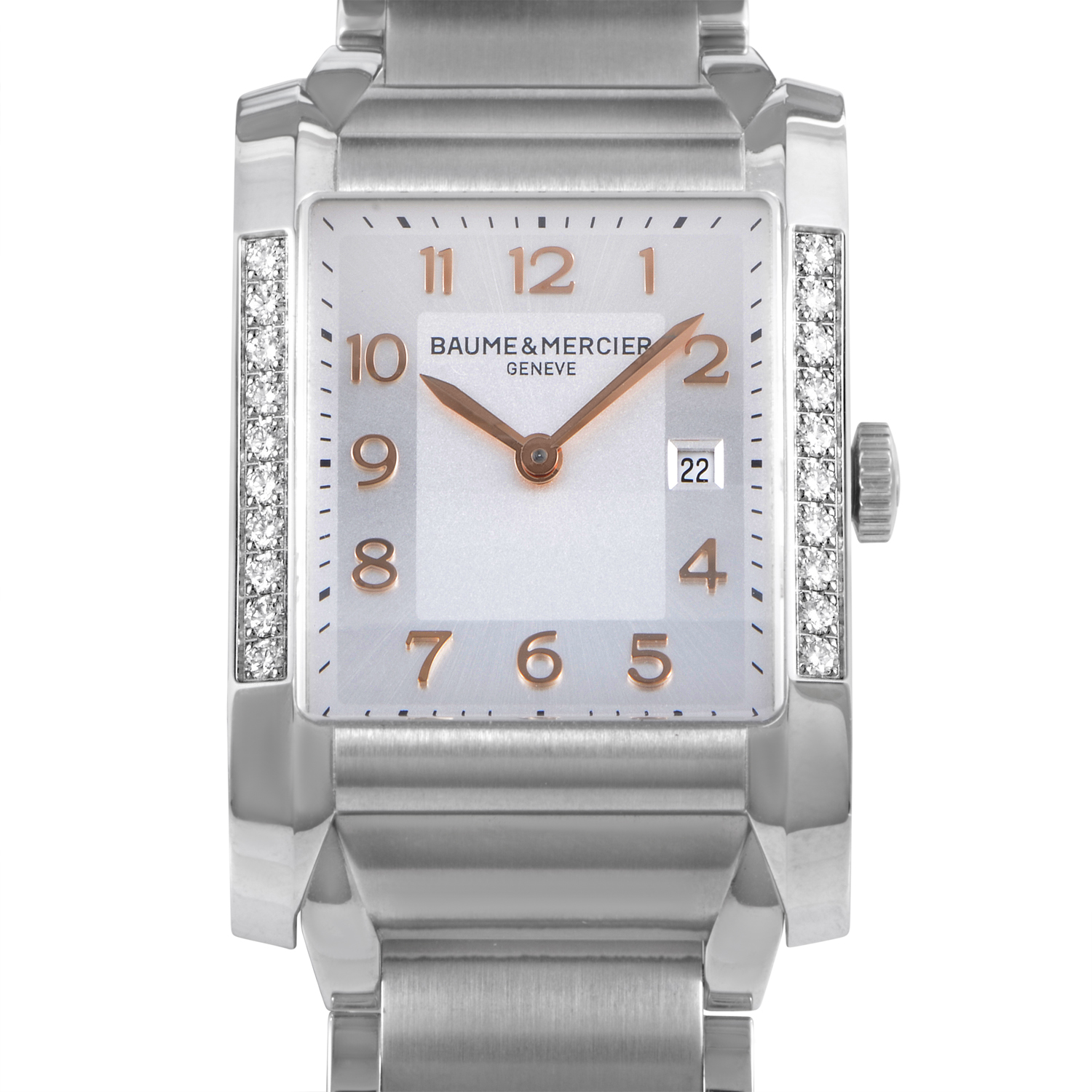Hampton Ladies Stainless Steel Quartz Watch MOA10023