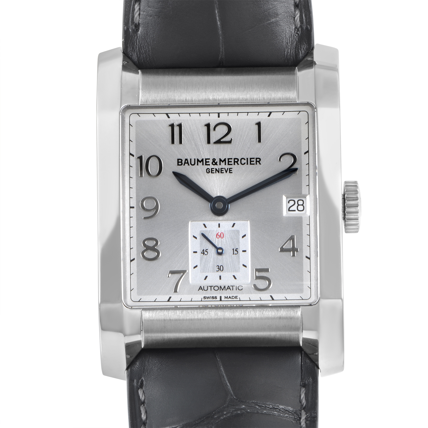 Hampton Mens Stainless Steel Automatic Watch MOA10026