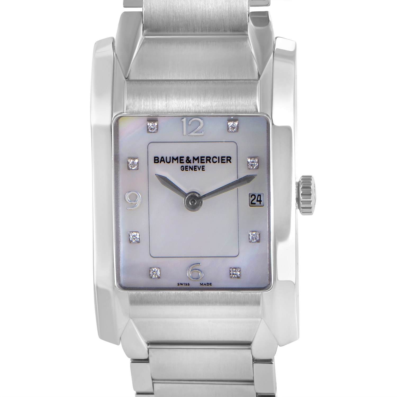 Hampton Ladies Stainless Steel Quartz Watch MOA10050