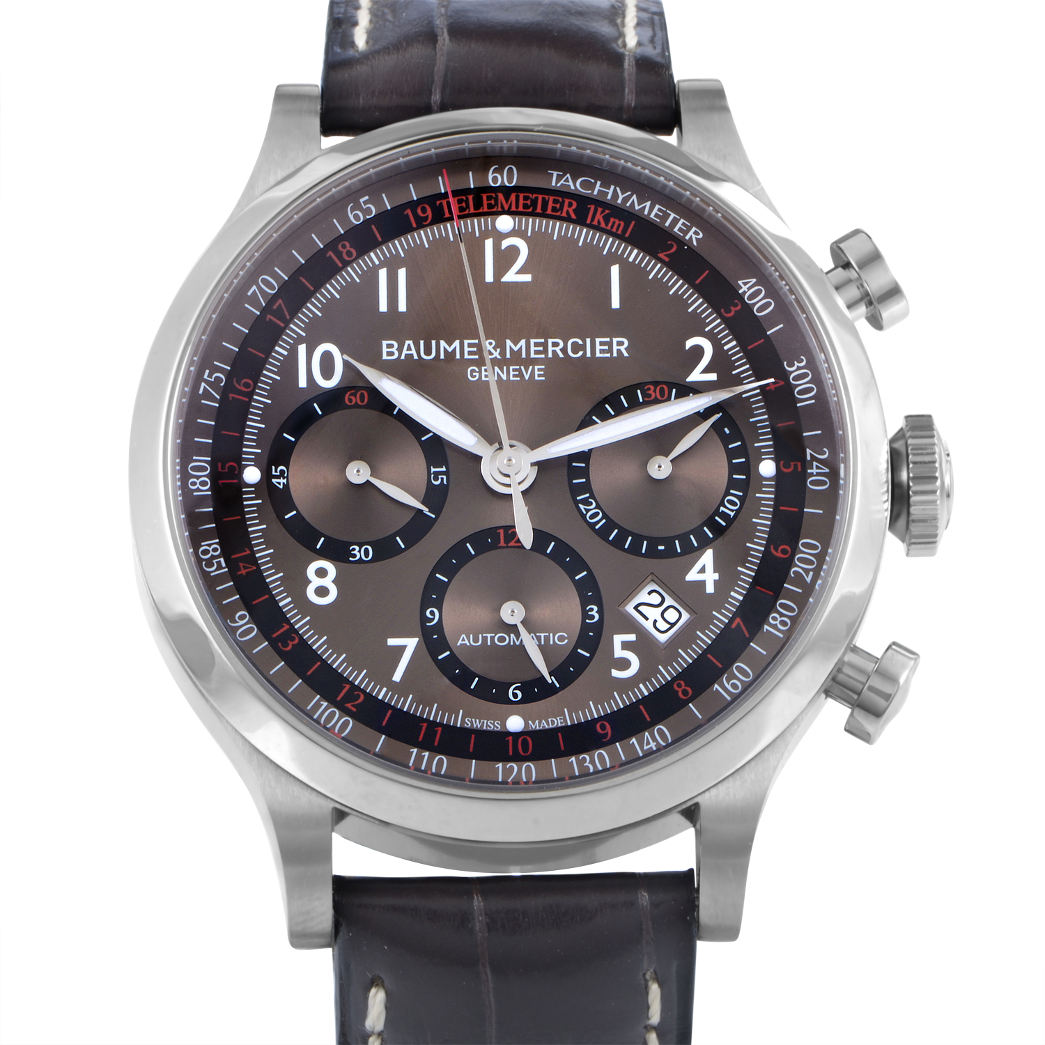 Capeland Mens Stainless Steel Automatic Watch MOA10083