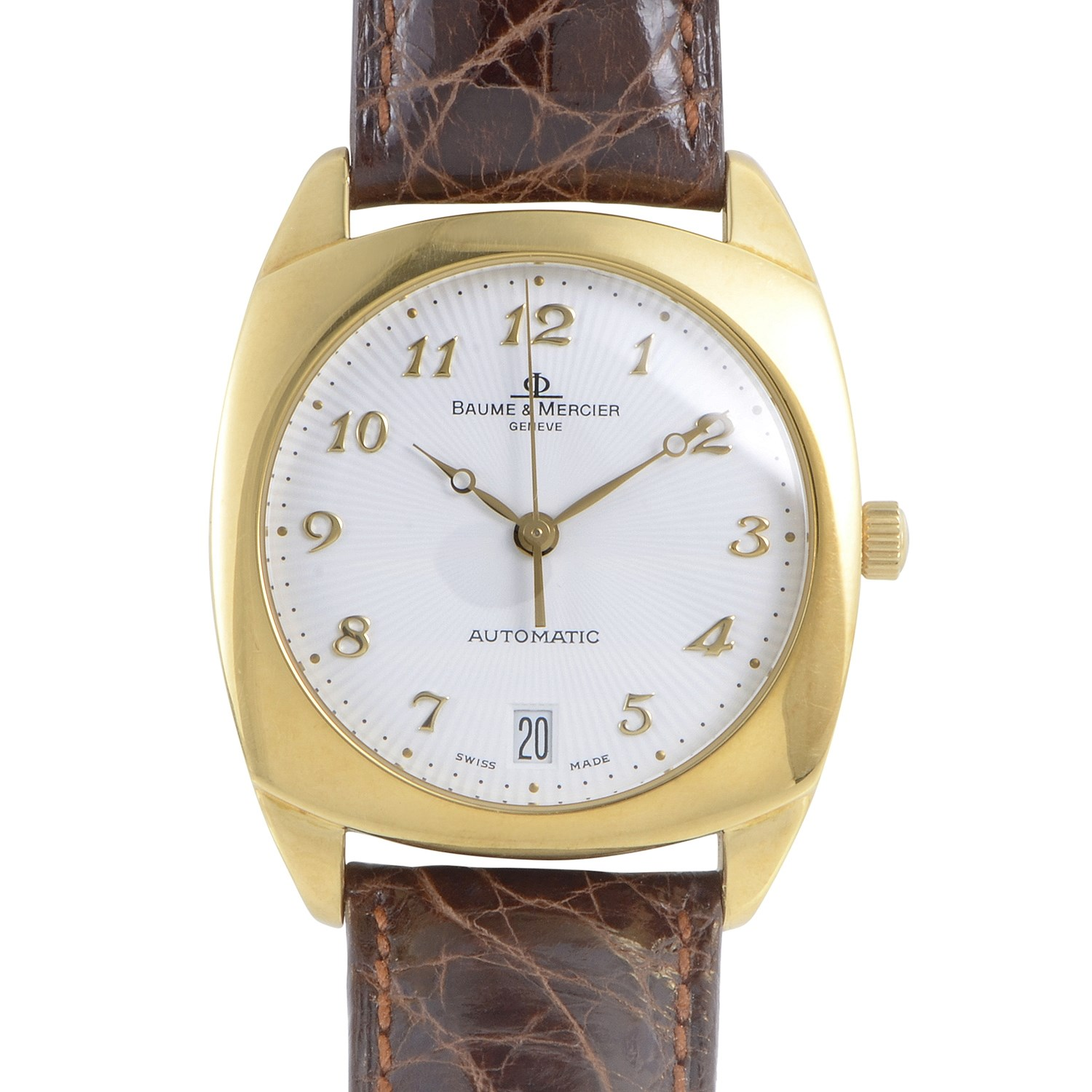 Mens Yellow Gold Automatic Watch MOAO6629