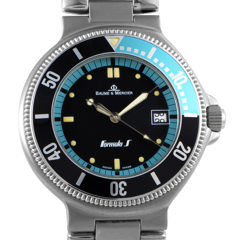 Formula S Mens Stainless Steel Quartz Watch MOF00042