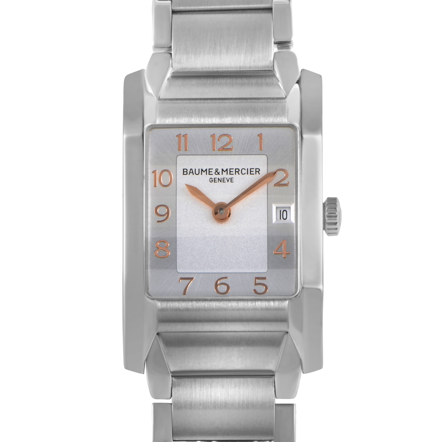 Hampton Ladies Stainless Steel Quartz Watch MOA10049