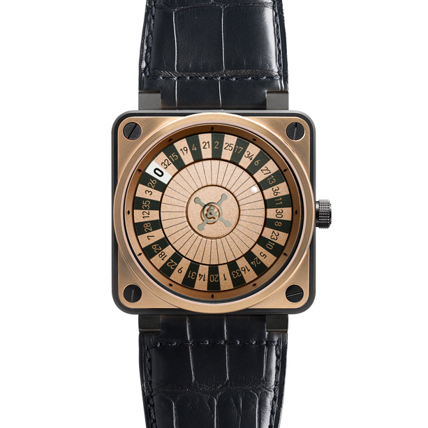 BR01­-92 Casino Rose Gold & Carbon
