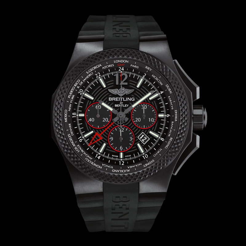 Bentley GMT Light Body B04 Midnight Carbon VB043222/BD69/222S/V20DSA.2 (Titanium)