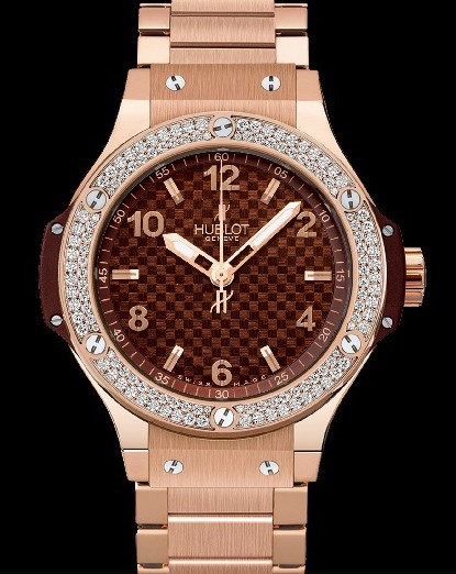 Big Bang 38mm Cappuccino Red Gold Diamonds 361.PC.3380.PC.1104