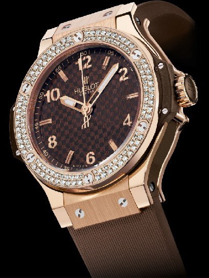 Big Bang 38mm Cappuccino Red Gold Diamonds 361.PC.3380.RC.1104