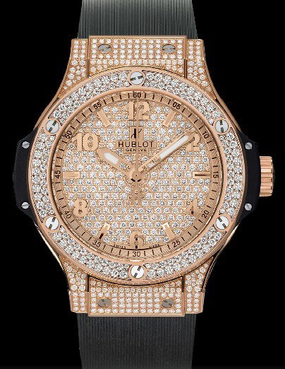 Big Bang 38mm Red Gold Pave Diamonds 361.PX.9010.RX.1704