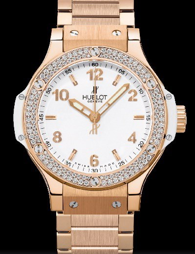 Big Bang 38mm Red Gold White Diamonds 361.PE.2010.PE.1104