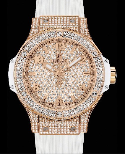 Big Bang 38mm Red Gold White Full Pave 361.PE.9010.RW.1704