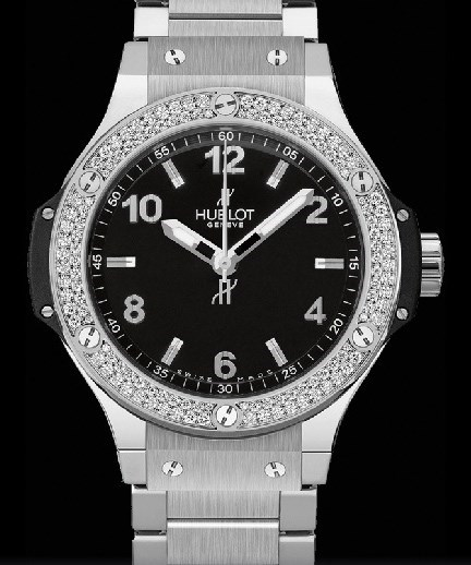 Big Bang 38mm Steel Diamonds 361.SX.1270.SX.1104