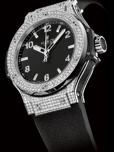 Big Bang 38mm Steel Pave Diamonds 361.SX.1270.RX.1704