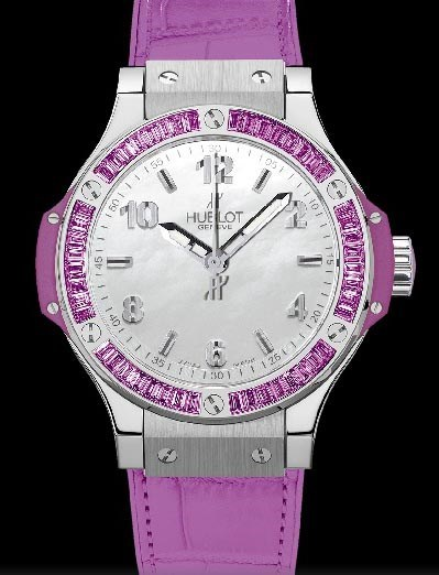 Big Bang 38mm Steel Tutti Frutti Purple 361.SV.6010.LR.1905