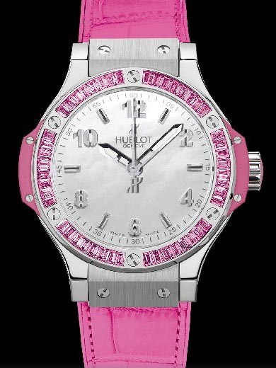 Big Bang 38mm Steel Tutti Frutti Rose 361.SP.6010.LR.1933
