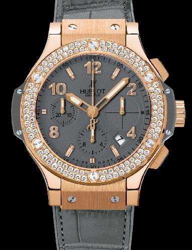 Big Bang 41mm Earl Gray Diamonds 341.PT.5010.LR.1104