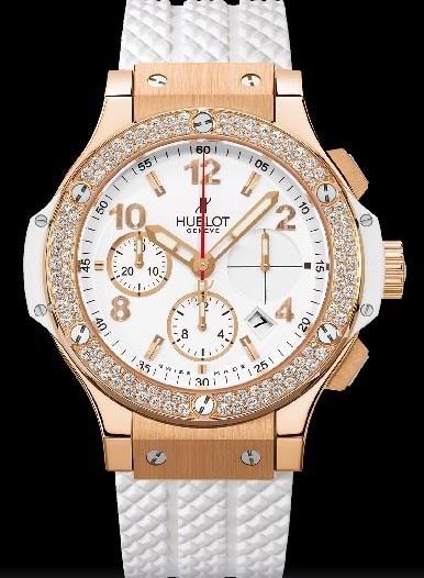 Big Bang 41mm Gold White Diamonds 341.PE.2010.RW.1104