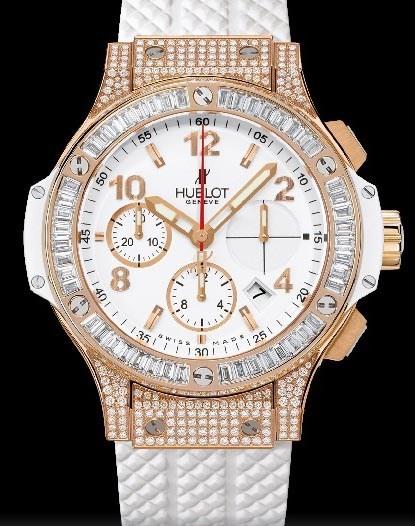 Big Bang 41mm Gold White Jewelry 341.PE.2010.RW.0904