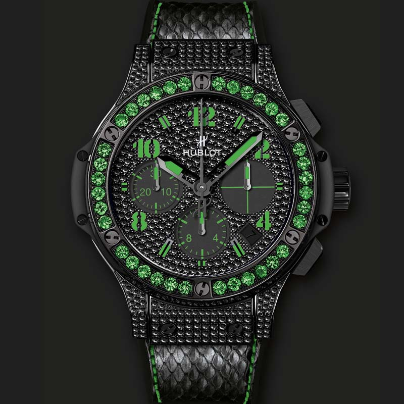 Big Bang Black Fluo Green 341.SV.9090.PR.0922