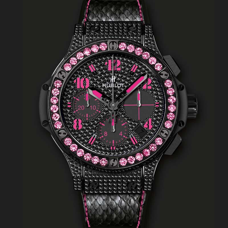 Big Bang Black Fluo Pink 341.SV.9090.PR.0933