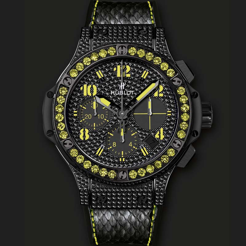 Big Bang Black Fluo Yellow 341.SV.9090.PR.0911