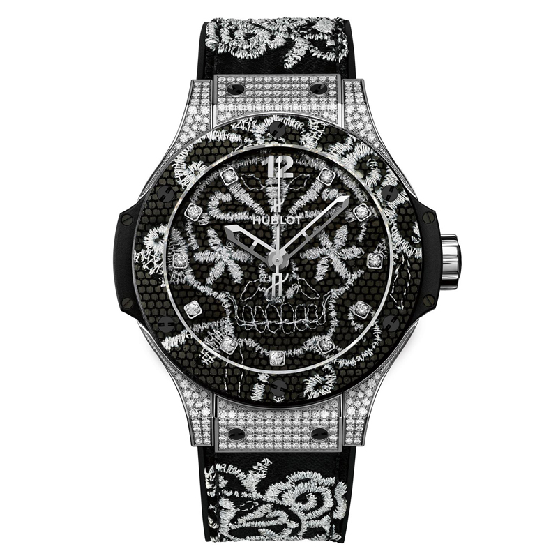 Big Bang Broderie 343.SX.6570.NR.0804 (Stainless Steel)