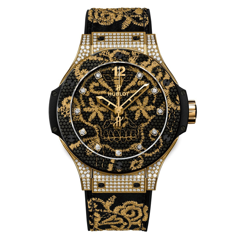 Big Bang Broderie 343.VX.6580.NR.0804 (Yellow Gold)