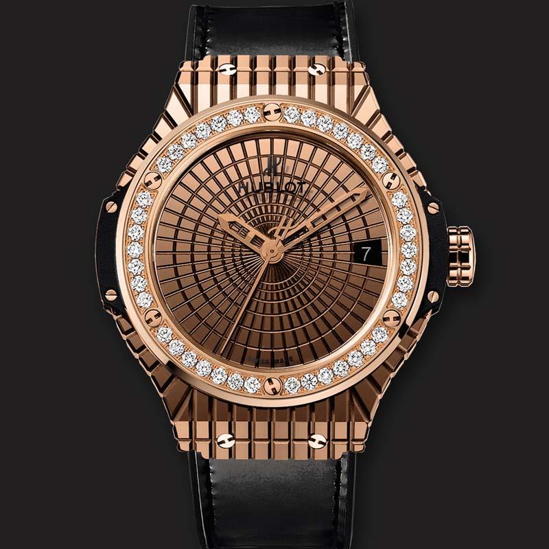 Big Bang Gold Caviar Diamonds 346.PX.0880.VR.1204