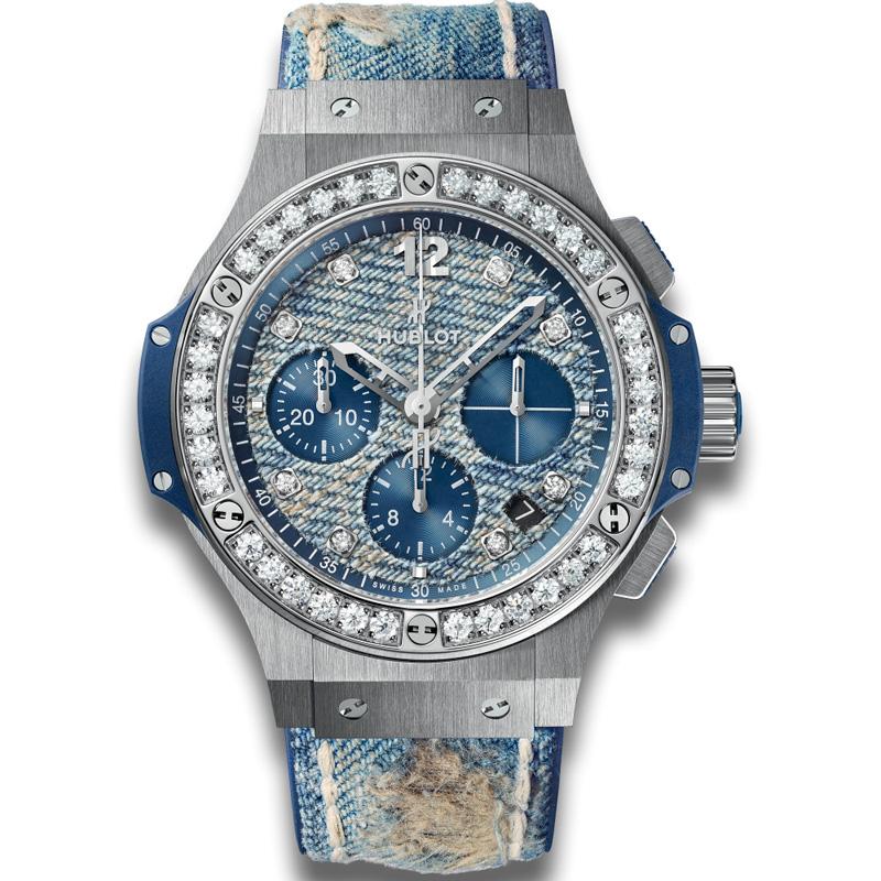 Big Bang Jeans Steel Diamonds 341.SL.2770.NR.1204.JEANS (Stainless Steel)