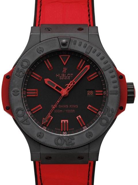 Big Bang King All Black Red 322.CI.1130.GR.ABR10