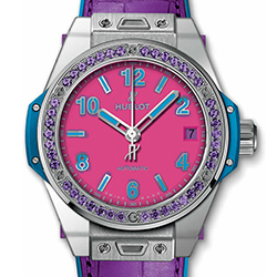 Big Bang One Click Pop Art Steel Purple 465.SV.7379.LR.1205.POP16
