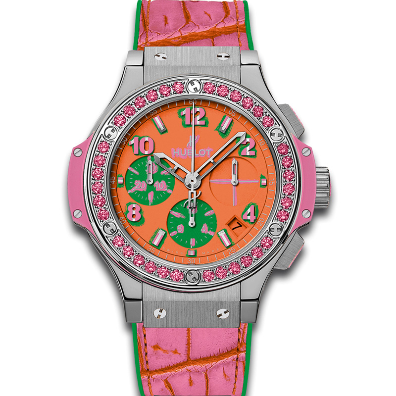 Big Bang Pop Art Steel Rose 341.SP.4779.LR.1233.POP15 (Stainless Steel)