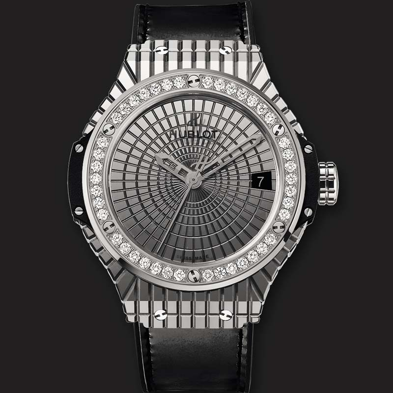 Big Bang Steel Caviar Diamonds 346.SX.0870.VR.1204