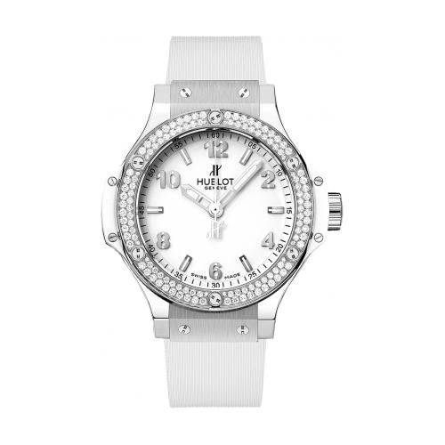 Big Bang Steel White Diamonds 361.SE.2010.RW.1104