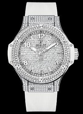 Big Bang Steel White Full Pave 361.SE.9010.RW.1704