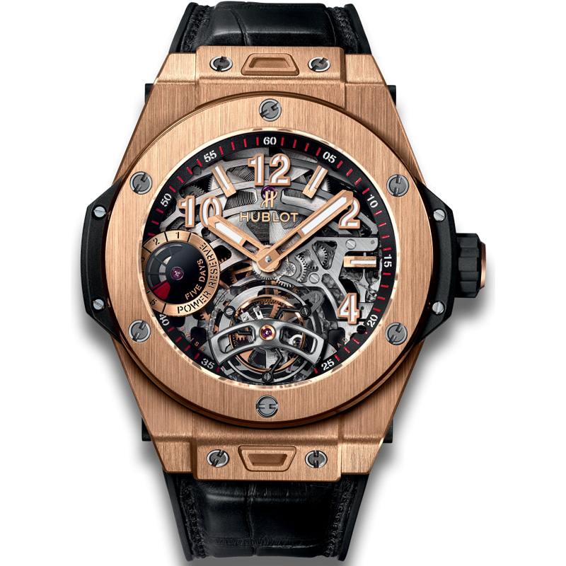 Big Bang Tourbillon Power Reserve 5 Days King Gold 405.OX.0138.LR (King Gold)