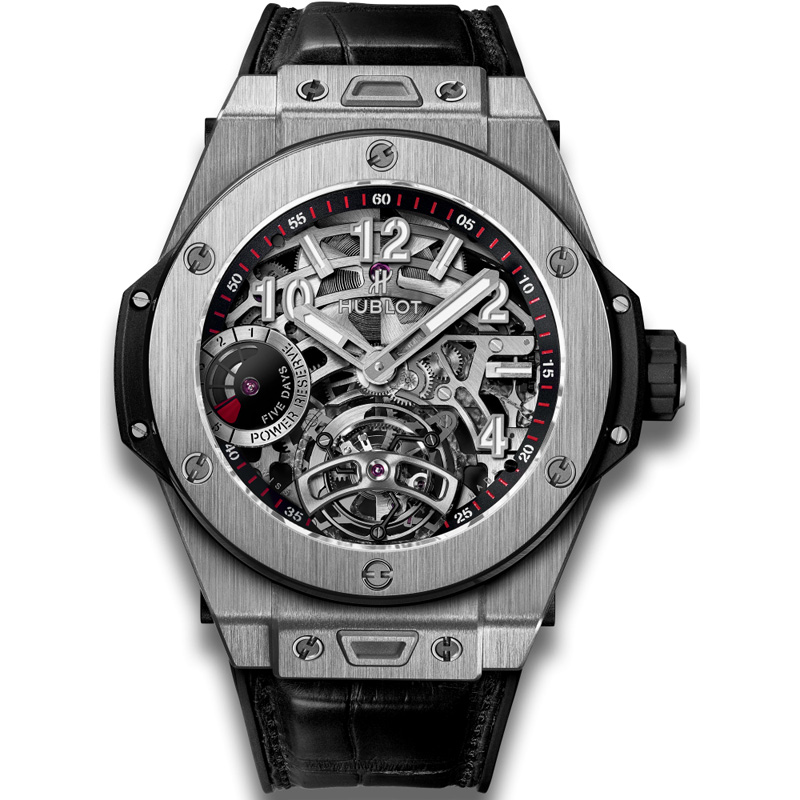 Big Bang Tourbillon Power Reserve 5 Days Titanium 405.NX.0137.LR (Titanium)