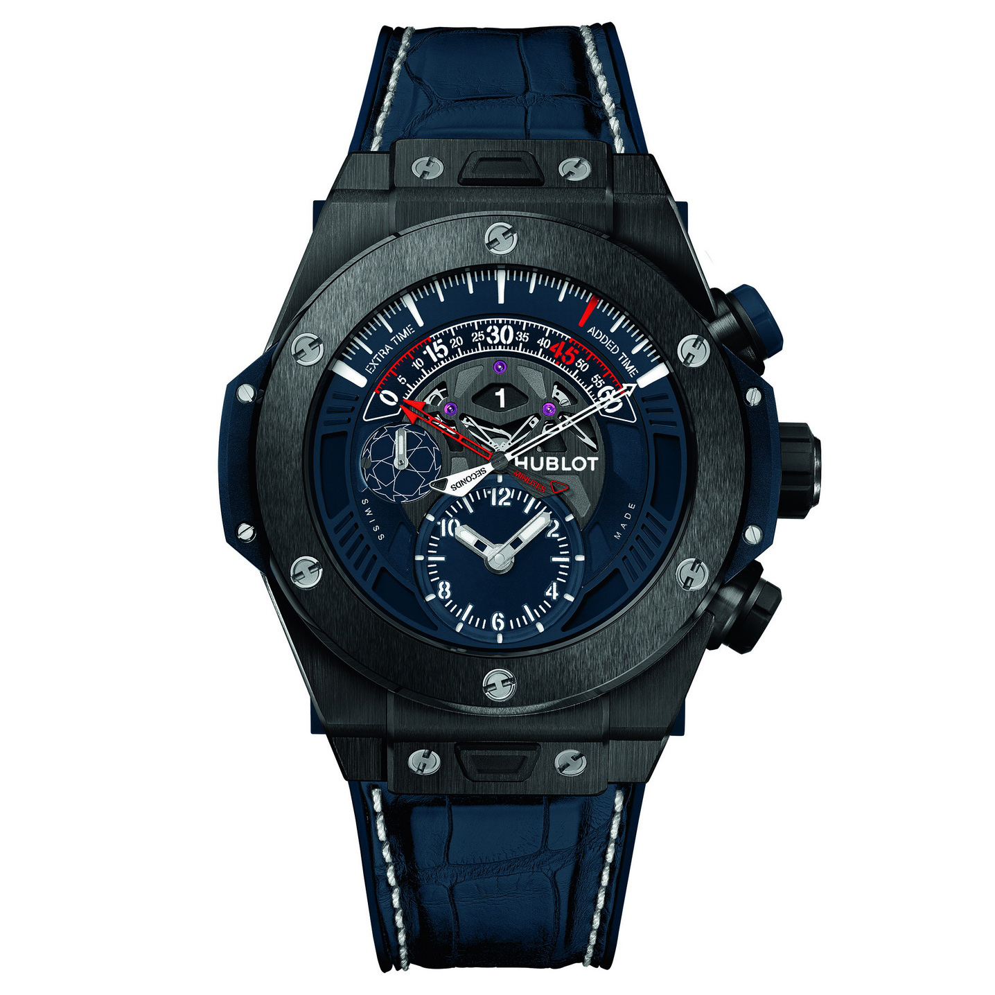 Big Bang Unico Ceramic Chronograph Retrograde UEFA Champions League 413.CX.7123.LR.UCL16