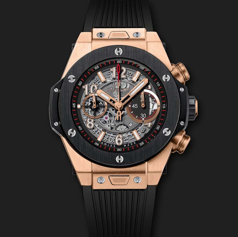 Big Bang Unico King Gold Ceramic 411.OM.1180.RX