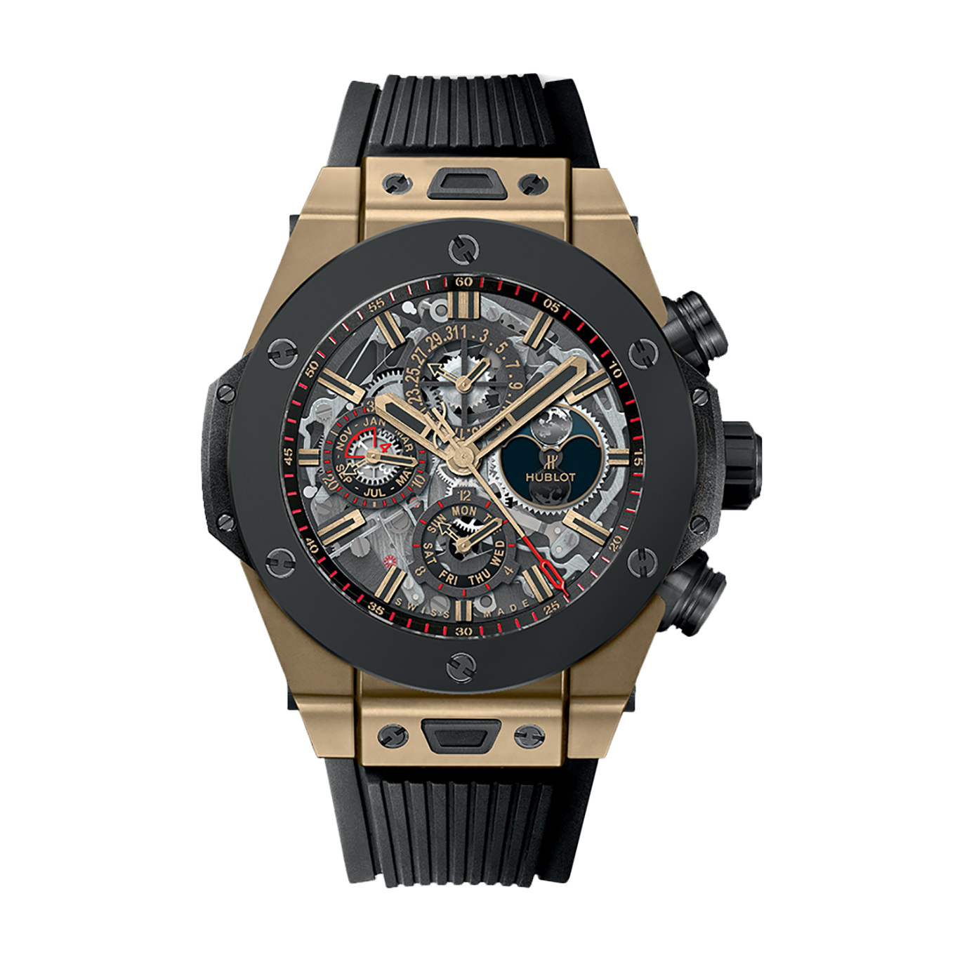 Big Bang Unico Perpetual Calendar Magic Gold Ceramic 406.MC.0138.RX