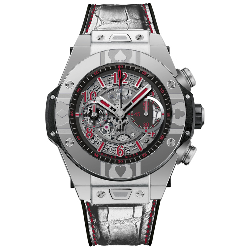Big Bang Unico World Poker Tour Steel 411.SX.1170.LR.WPT15 (Stainless Steel)