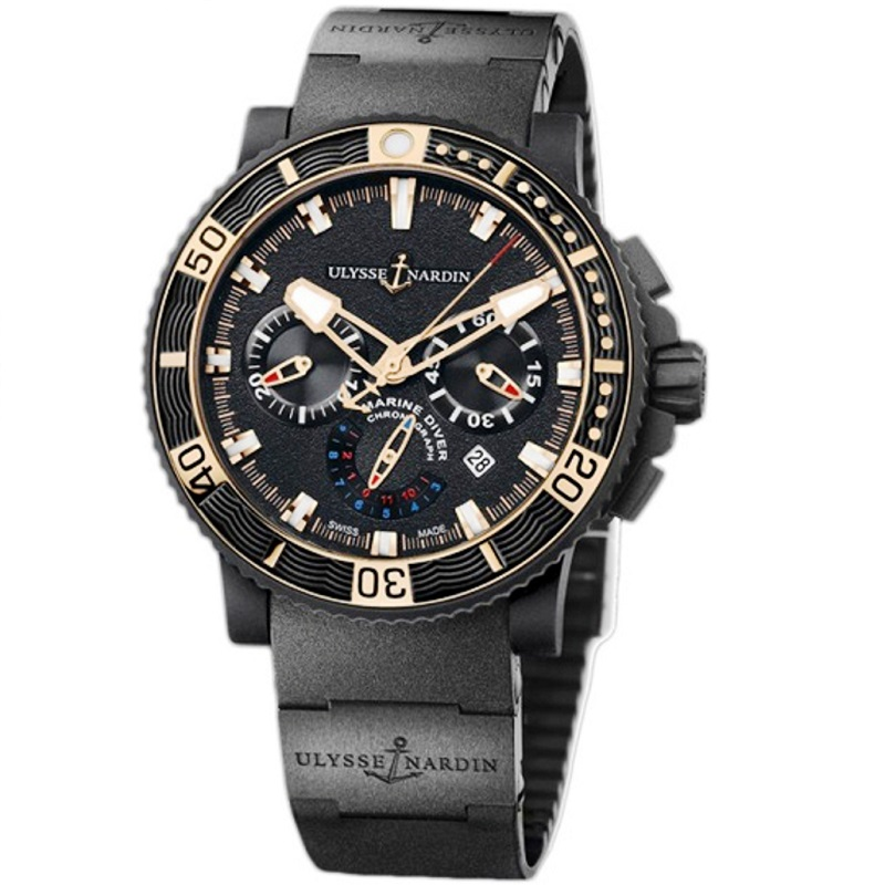 Marine Diver Black Sea Chronograph 45.8mm 353-90-3C