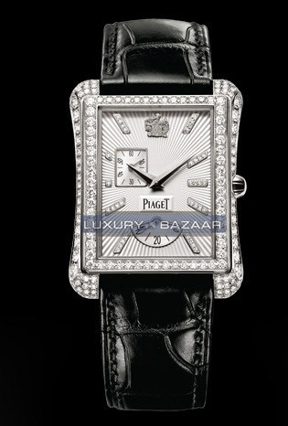 Black Tie Emperador Diamond Watch (WG-Diamond / Silver-Diamond / Strap)