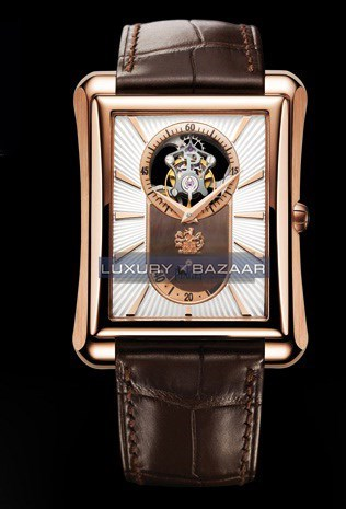 Black Tie Emperador Tourbillon Watch GOA34127