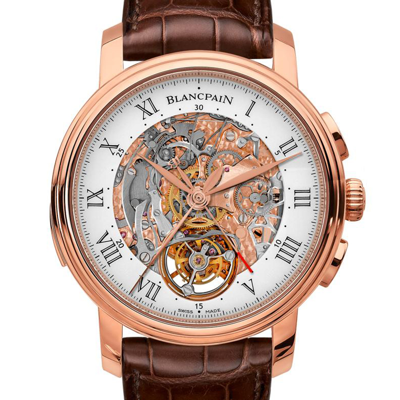 Carrousel Répétition Minutes Chronographe Flyback 2358-3631-55B