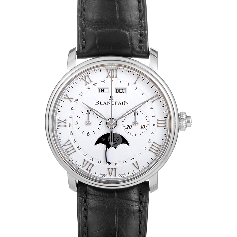 Villeret Single-Pusher Chronograph 6685-1127-55B