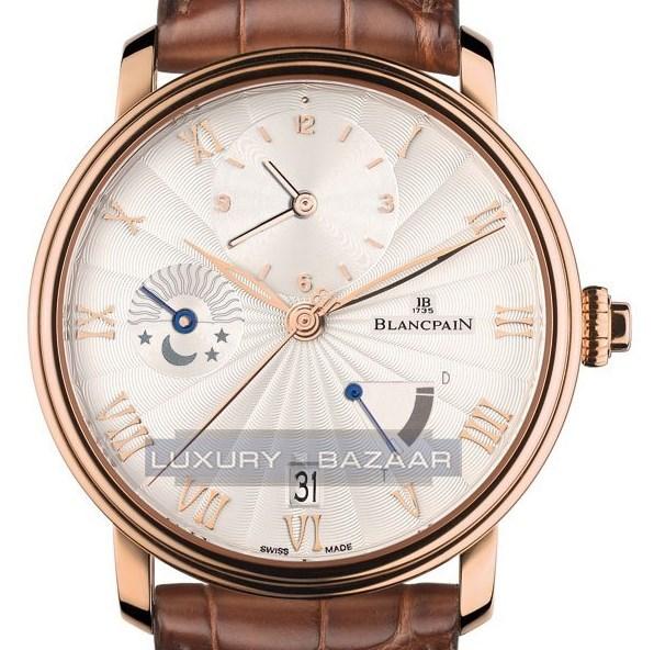 Villeret Timezone 30 minutes Demi-Savonnette 6665-3642-55B