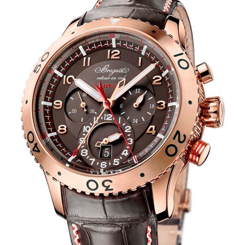 Transatlantique Type XXII Flyback 10 Hz Watch 3880br/z2/9xv