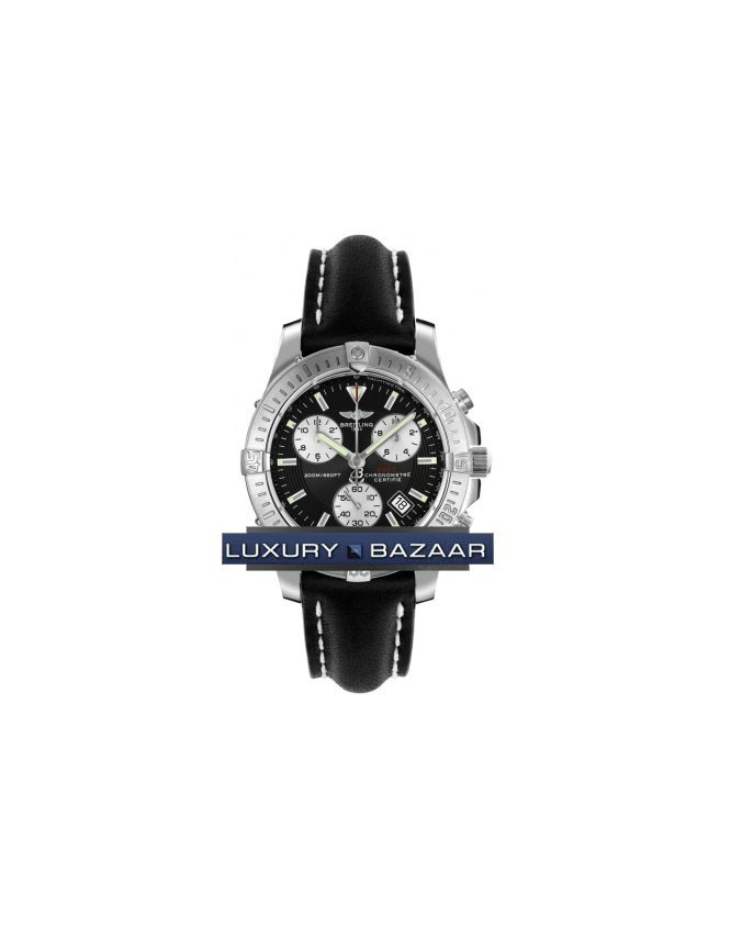 Chrono Colt II (SS / Black / Leather)